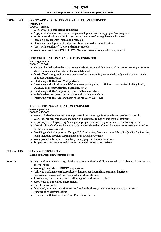 software engineer job resume sample