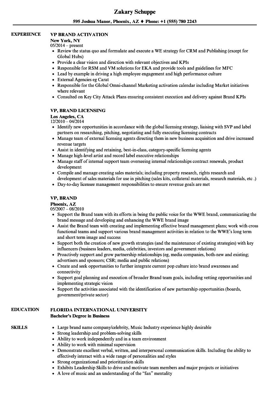 job resume sample download