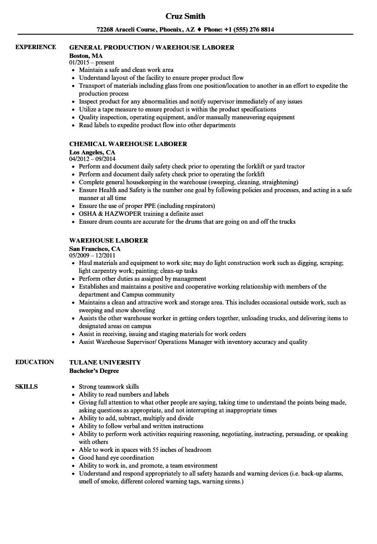 data warehouse manager sample resume