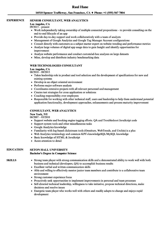 sample tfs resume