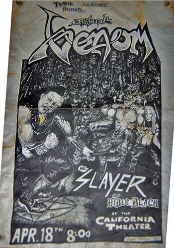 venom black metal collection homepage Concert Flyers