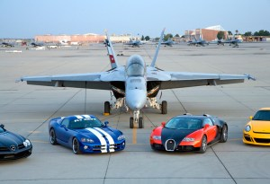 Hennessey Venom Viper vs. Bugatti Veyron