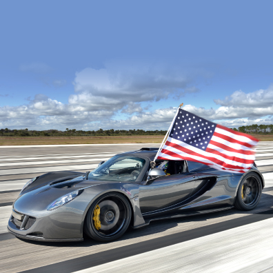 World's Fastest: 270.49 mph (435.2 km/h)