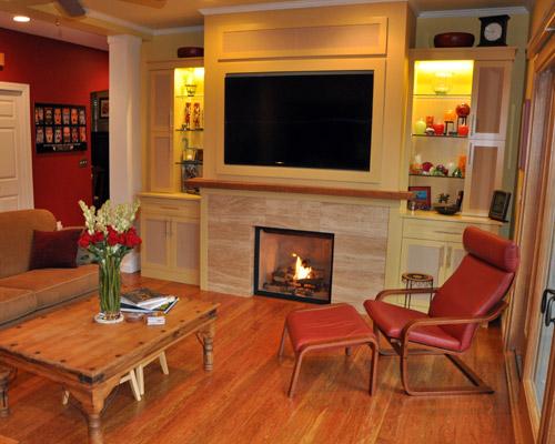 Fireplace Remodels Ventana Construction Seattle Washington
