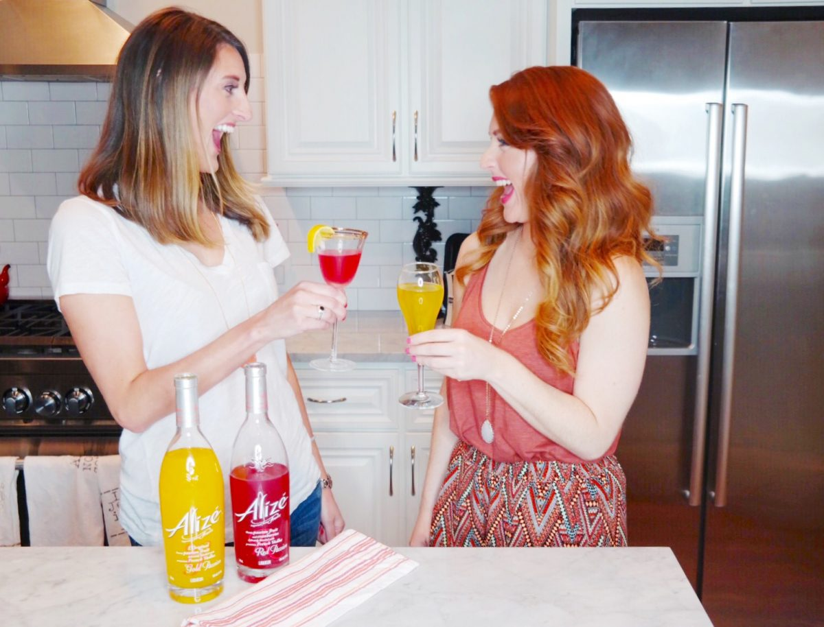 Life is more fun in color + Alizé summer cocktail recipes