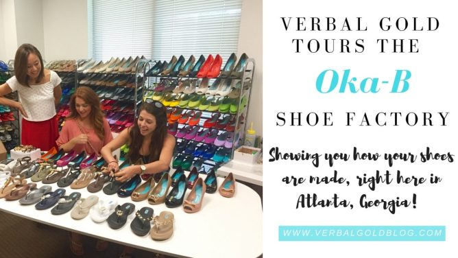 How are shoes made? Check out our tour of the Oka-B shoe factory in Atlanta!