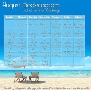 End of Summer Bookstagram Challenge #EOSChallenge