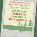 #MerryBlogmas Giveaway 2014