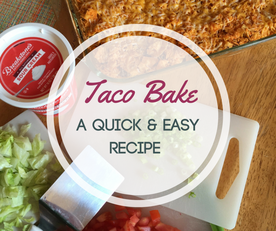 Taco Bake - a quick and easy recipe