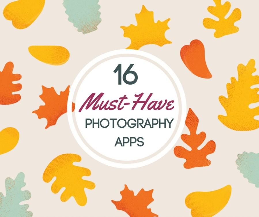 16 must have free photography apps