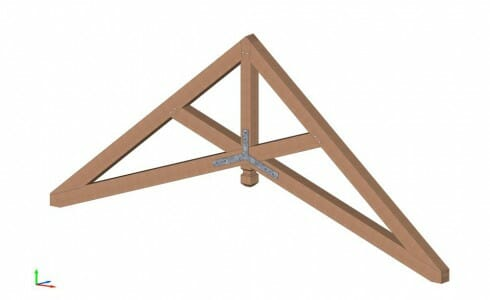 Scissor Trusses | Heavy Timber Ceiling Beams | Wood Design