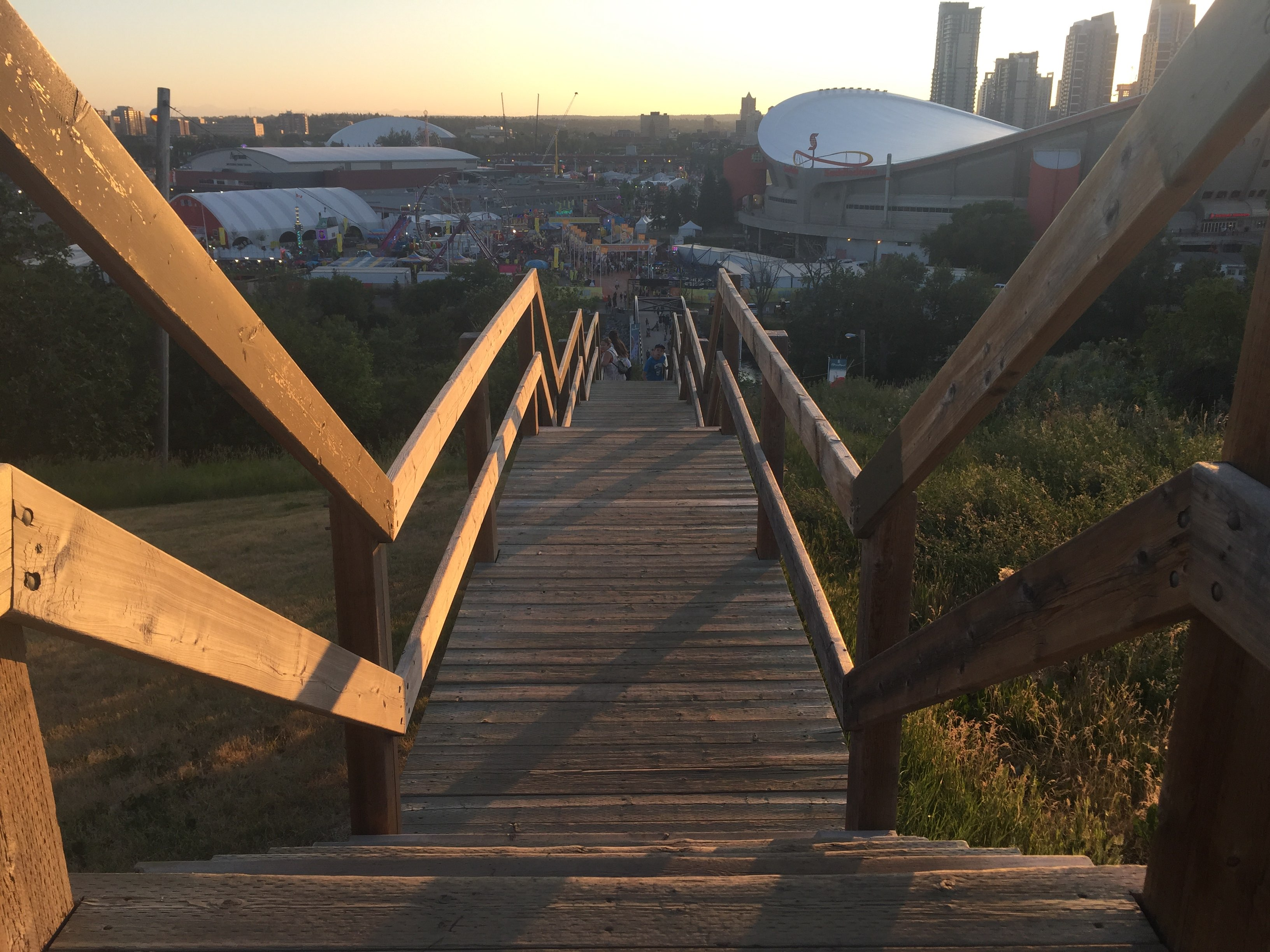 6 Outdoor Stairs To Run In Calgary That Arent The