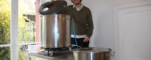 Arnaud Da Costa dans son laboratoire.