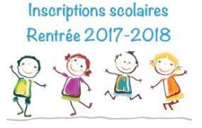 inscriptions scolaire 2017 2018