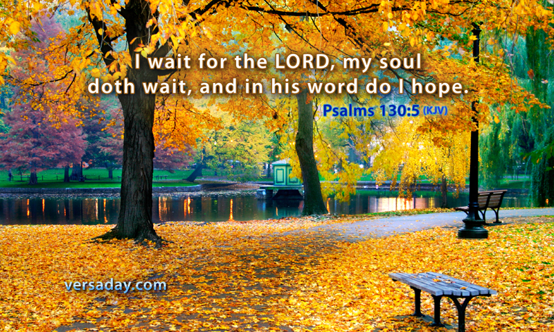 Fall New England Wallpaper Psalms 130 5 Verse For February 24