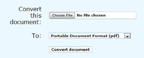 convert document to pdf