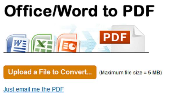 convert office to pdf