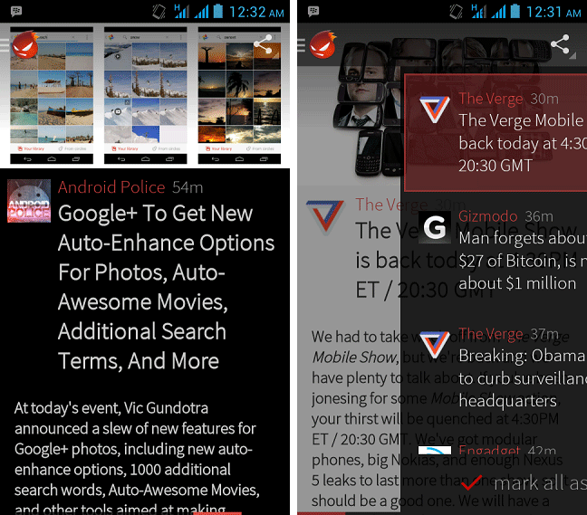 Flyne for Android