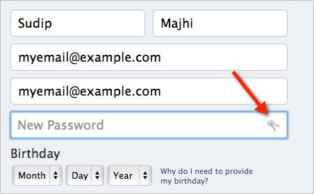 Enable Hidden Chrome Password Generator