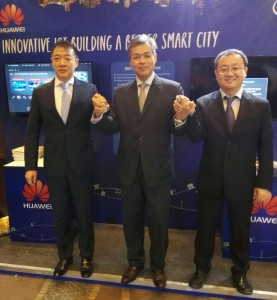 Huawei Launches Industry's First 'Joint Innovation Solution & Demo Center' at the Huawei Enterprise ICT Summit 2015