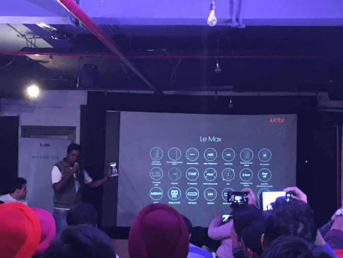 Le Max Revealed at Le Meetup Delhi