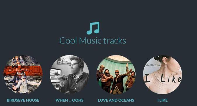 FilmoraGo-music track