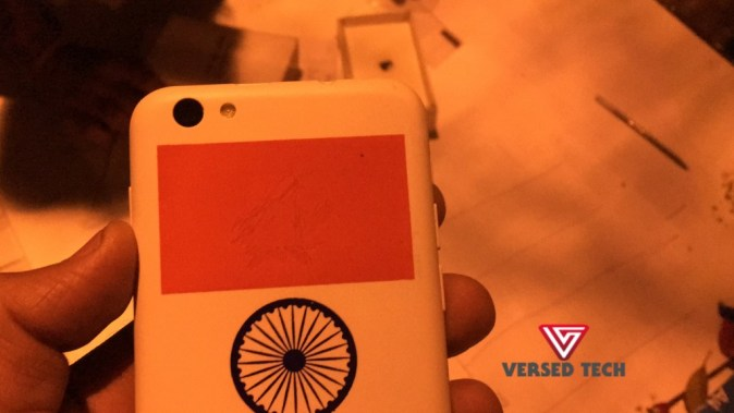 Freedom 251 Back Indian Flag