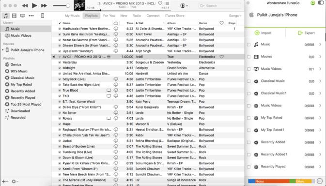 iTunes Compatibility TunesGo
