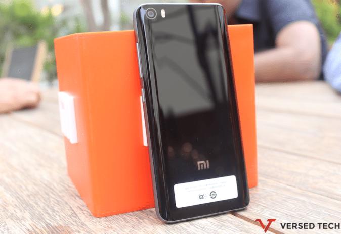 Xiaomi Mi5 Black Back