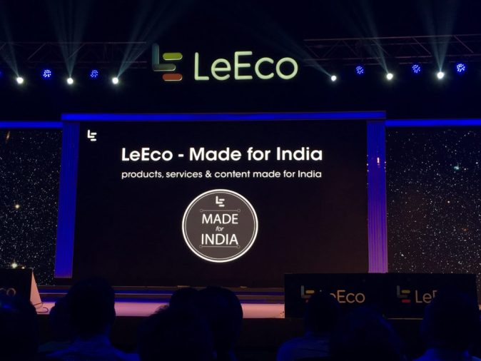 LeEco Le 1S Eco Made for India