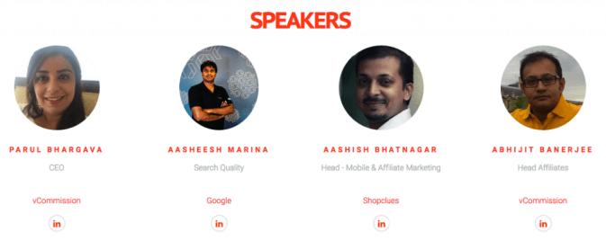 India Affiliate Summit 2016 Speakers
