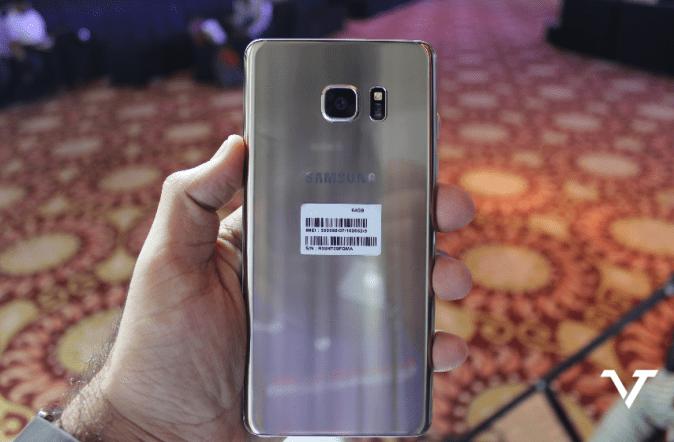 Samsung Galaxy Note 7 Back
