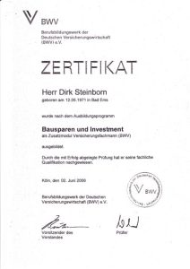 Bausparen-Investment