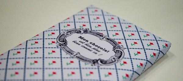 Mon chocolat est bien plus beau comme a vert cerise - Emballage tablette chocolat a imprimer gratuit ...