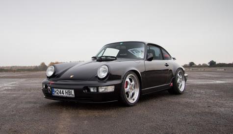 Black Removable Wallpaper Porsche 964 Parts