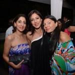 Anita Bajaj, Malini Ramani, Pia Pauro at the Spread A Smile auction,. Delhi
