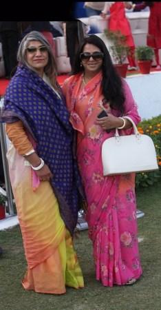 Kanwarani Kamini Singh of Seohara, Baisa Pushpita Singh of Kharwa