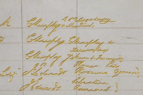 (detail) The Baptism Certificate