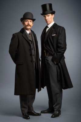 Sherlock Holmes and John Watson in The Abominable Bride
