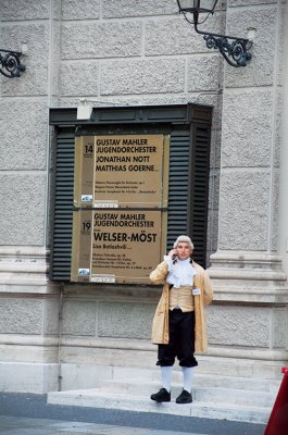 Mozart on call in Vienna