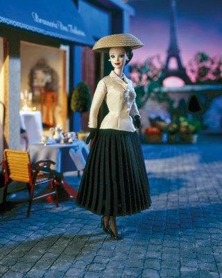 Barbie Dior, pour les 50 ans du Tailleur Bar, 1997