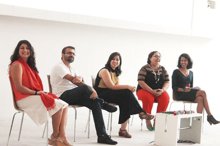 Chhavi Sachdev, Sachin Bhatia, Taru Kapoor, Paromita Vohra and Vishnupriya Das at the India LSD panel