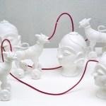 Connected ( Maternal Enthralment) by Katharina Kakar at Visual Arts Gallery New Delhi
