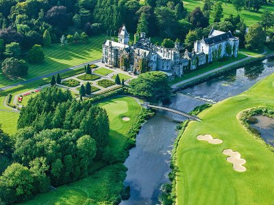 Aerial view of Adare Manor