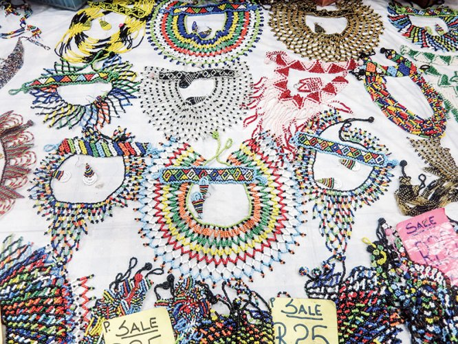 The Zulu people are known for their intricate beadwork