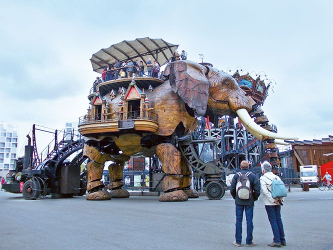 The Grand Elephant, Nantes
