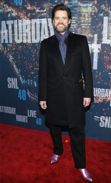 Jim Carrey: For pulling off that long tux with so much ease.