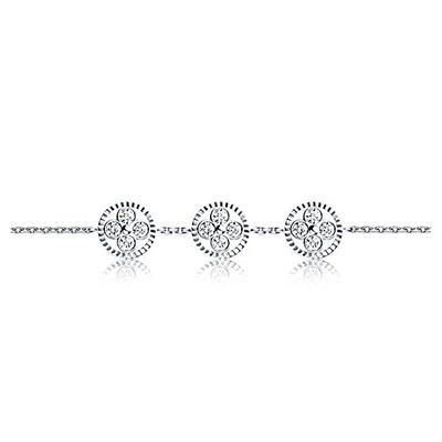 Louis Vuitton Diamond Blossom BB bracelet with diamonds in 18-carat white gold