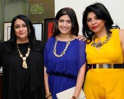 Malini Akerkar, Pooja Dadlani, Shweta Gupta