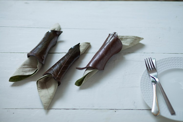 Studio pottery napkin holders